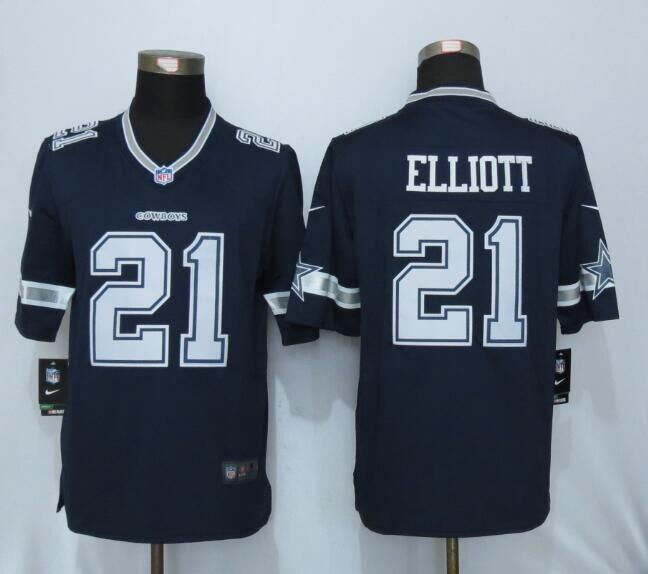 Dallas cowboys 21 Elliott Blue 2016 Nike Limited Jersey